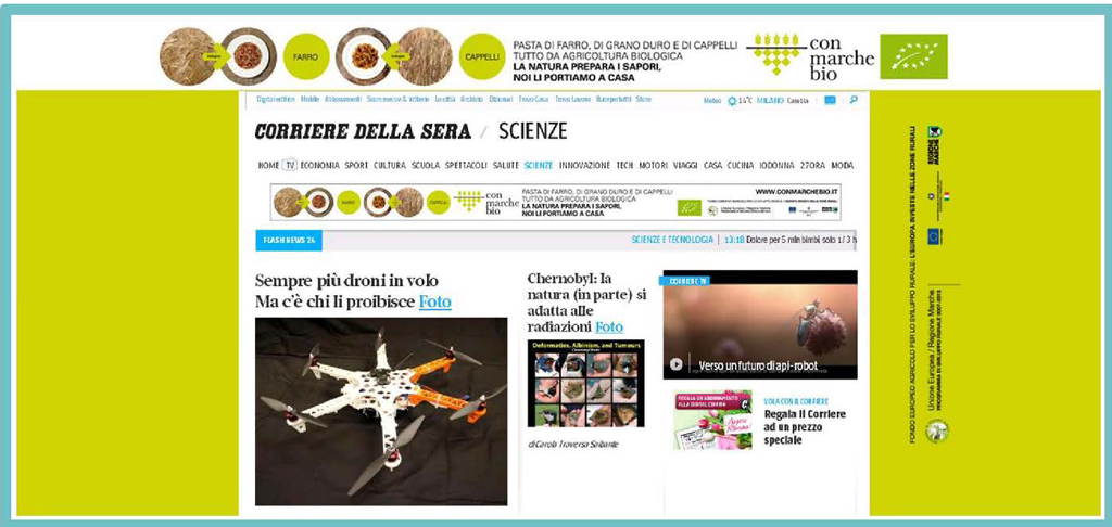 Corriere.it-sezione scienze, marzo 2014