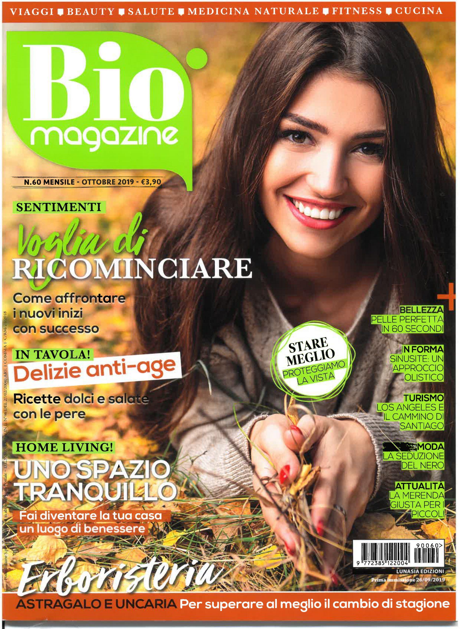 Lunasia, Bio Magazine, ottobre 2019